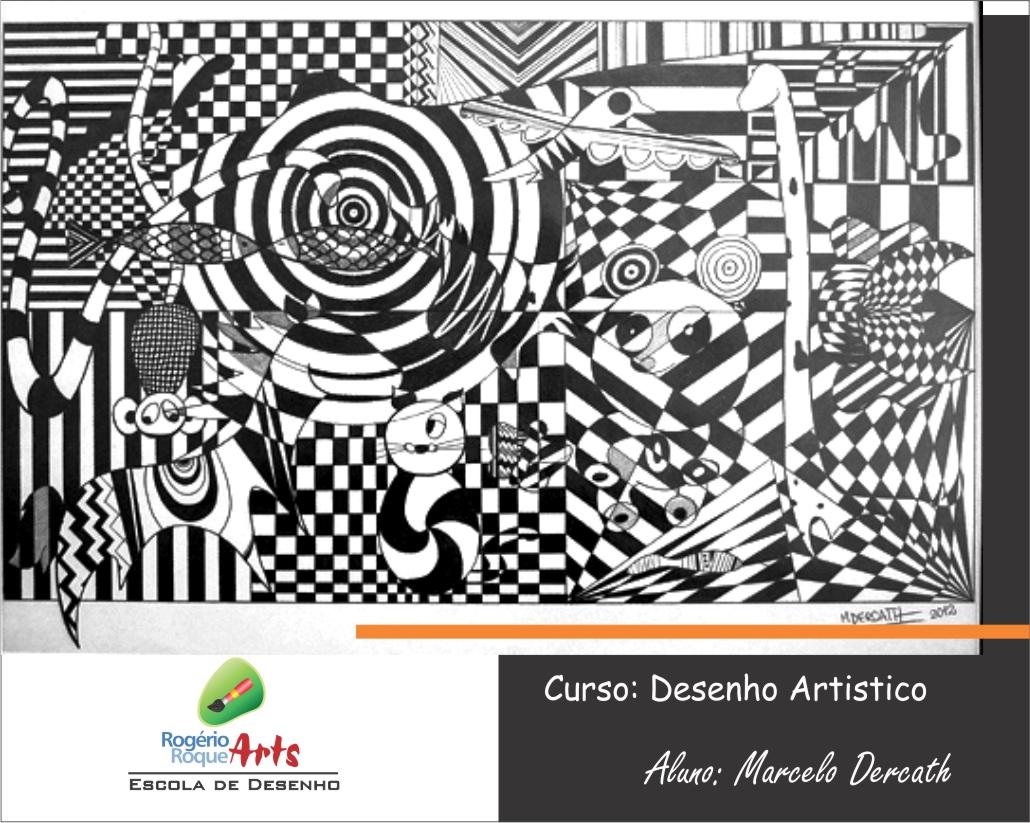 marcelo dercath - escola de desenho rogerio roque arts 2